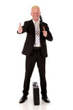 Successful smiling Businessman Royalty Free Stock Photo
