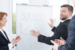 Successful strategy planning royalty free stock photo