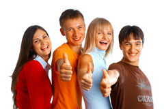 Successful students Stock Photography
