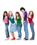 Successful students Stock Photo