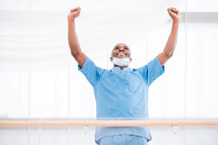 Successful surgeon. Royalty Free Stock Images