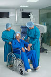After successful surgery Stock Image