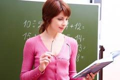 Successful teacher Royalty Free Stock Photo