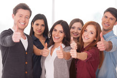 We are successful team! Royalty Free Stock Image