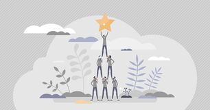 Free Successful Team Achievement As Precise And Effective Work Tiny Person Concept Royalty Free Stock Photo - 200972555