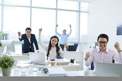 Successful team Royalty Free Stock Images