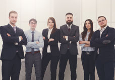 Successful Team Concept. Confident Business People Royalty Free Stock Images