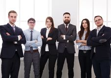 Successful Team Concept. Confident Business People Stock Photo