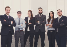Successful Team Concept. Confident Business People Royalty Free Stock Image