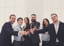 Successful Team Concept. Confident Business People Royalty Free Stock Photo
