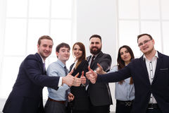 Successful Team Concept. Confident Business People Stock Image