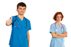 Successful team of doctors Stock Photo