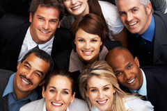 Successful team of executives Stock Images