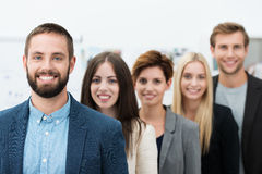 Successful team leader Stock Photos