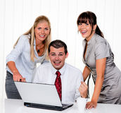 Successful team meeting Royalty Free Stock Photos