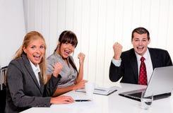 A successful team at a meeting Stock Photos