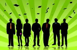 Successful teamwork people Stock Image