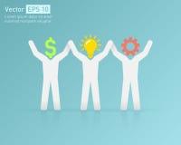 Successful teamwork Stock Image