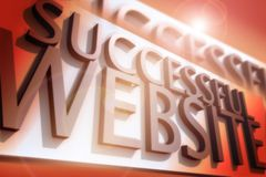Successful Website Royalty Free Stock Photo