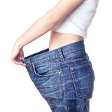 Successful Weight Loss Royalty Free Stock Photos