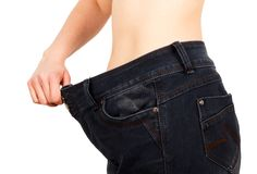 Successful Weight Loss Stock Photography