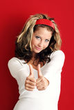 Successful woman Stock Image