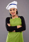 Successful woman chef portrait Royalty Free Stock Images