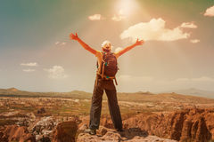 Successful woman Concept motivation, inspiration Stock Photography