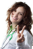 Successful Woman Doctor Royalty Free Stock Photo