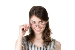 Successful woman in glasses Stock Photo