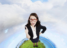 Successful woman Royalty Free Stock Photo