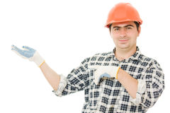 Successful worker Stock Image