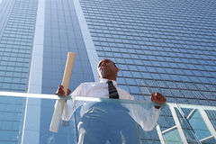Successful Young Architect stock photography