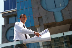 Successful Young Architect stock photos