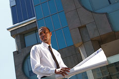 Successful Young Architect Stock Images