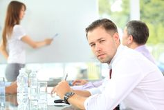 Successful young business man Stock Photography