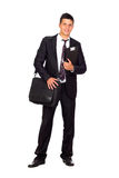 Successful young business man Stock Image