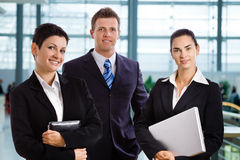 Successful young business people stock photo