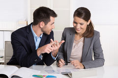 Successful young business people working in a team. Stock Photography