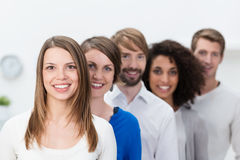 Successful young business team Royalty Free Stock Photos
