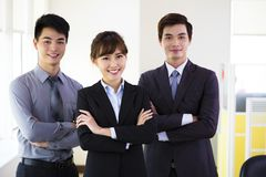 Successful young business team Stock Photo