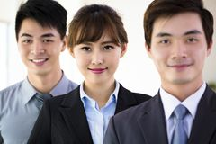 Successful young business team Royalty Free Stock Images