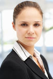 Successful young business woman Stock Photos