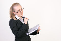Successful young business woman Stock Photo