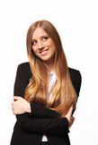 Successful young business woman Stock Image