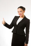 Successful young business woman stock photography