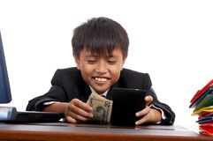 Successful young businessman Royalty Free Stock Photo