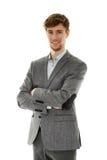 Successful young businessman Stock Photos