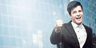 Successful young businessman Stock Photo
