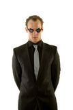 Successful young businessman wearing goggles Royalty Free Stock Photo
